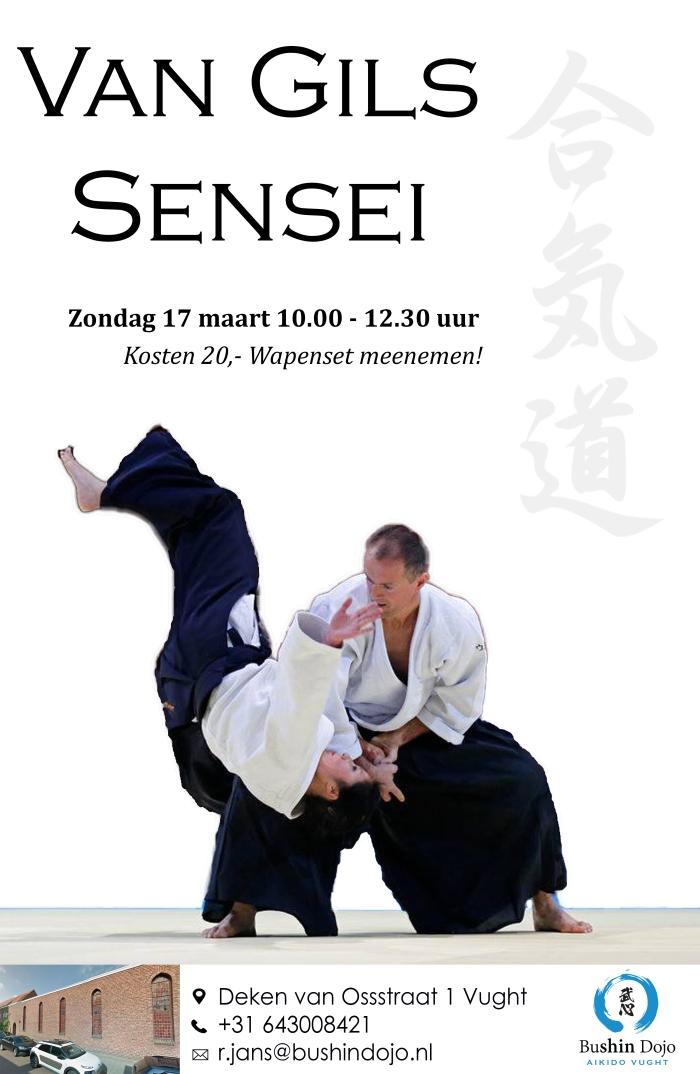 Poster Wim van Gils maart